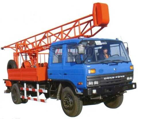 ST100-5G Drill Equipped With Transpose Positions And Auxiliary Hoisting Device Mobile Drilling Rigs
