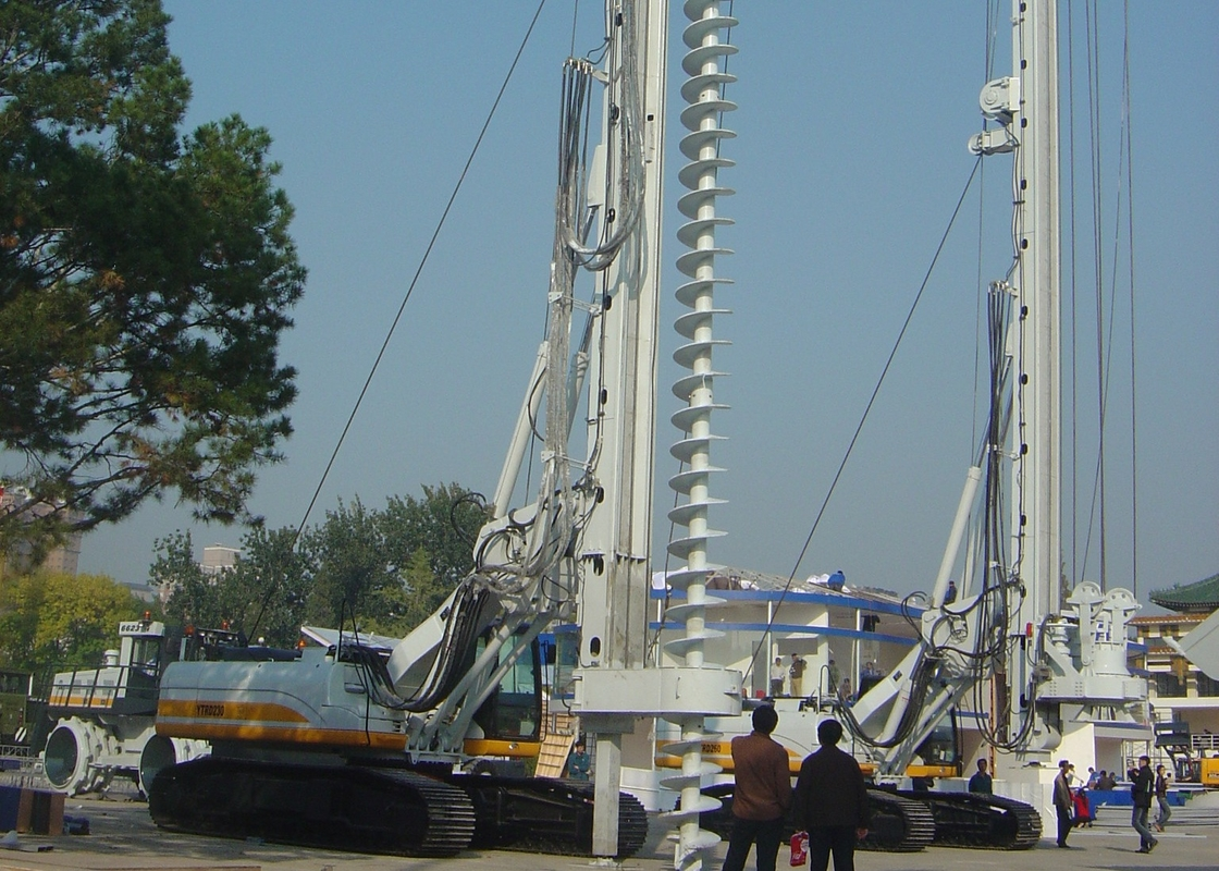 Rig Foundation Pile Oil Drilling CFA Equipment