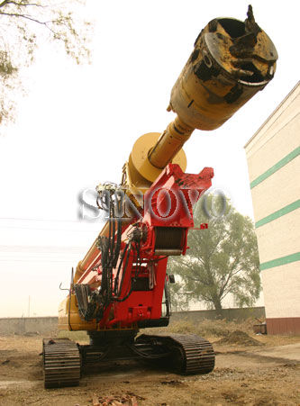 Rotary Drilling Rigs PCL Controller For Drill Hole Rotary Drilling Rigs,Max drilling depth  80m,Max hole diameter  2500m
